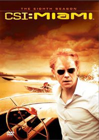 CSI Miami: Complete Season 8 (DVD)
