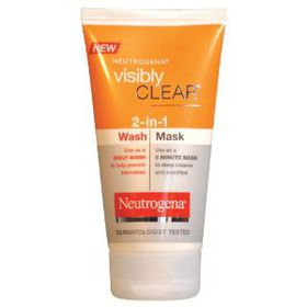 Neutrogena Visibly Clear 2-In-1 Wash/Mask