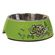 Rogz - 2-in-1 Bubble Dog Bowl - Small - 160ml Lime Bone