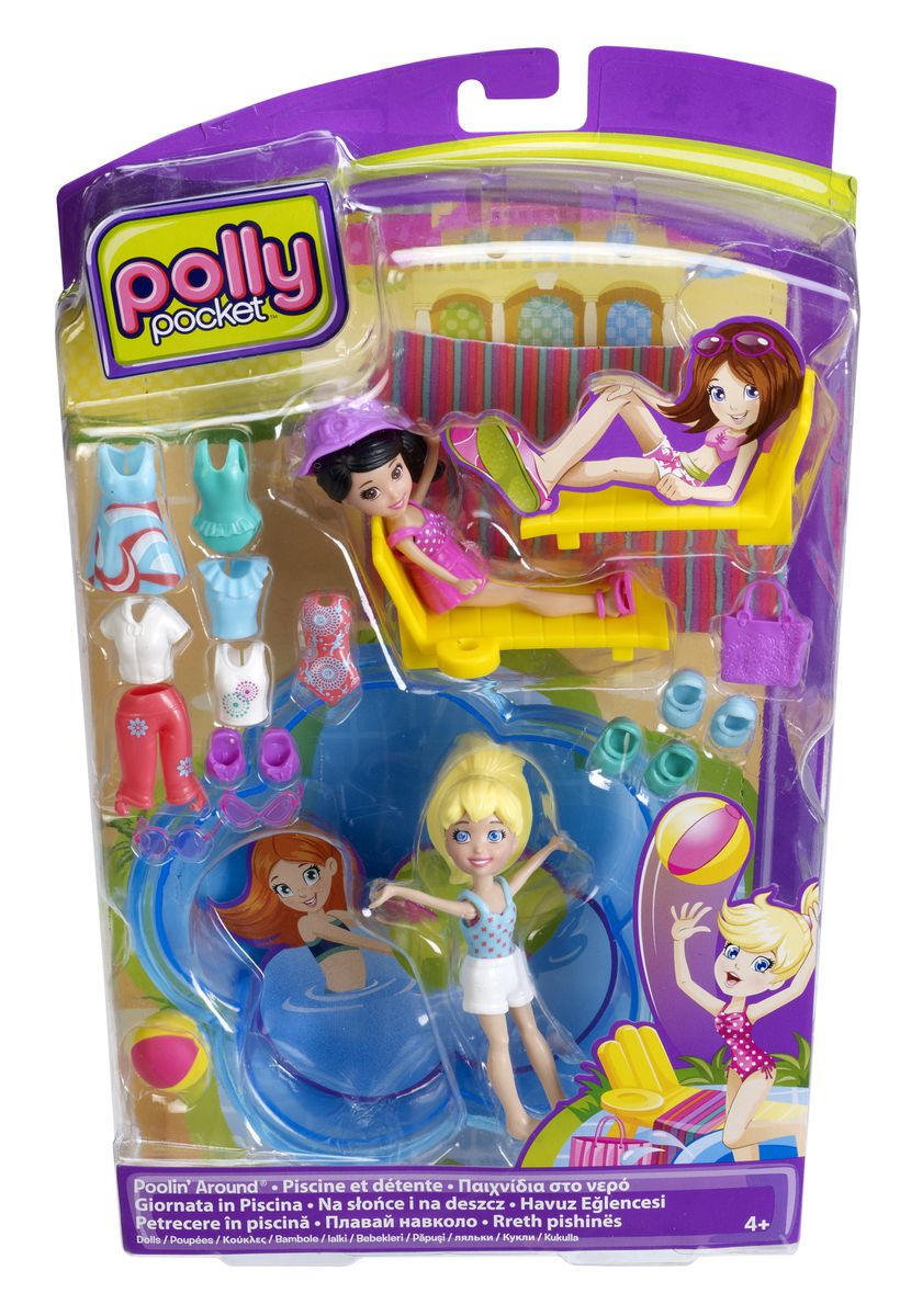 Polly pocket poolin around doll set buy online in south for Polly pocket piscine