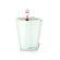 Lechuza - Mini Deltini Table Planters - White Glossy