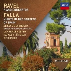 Virtuoso:Ravel/Falla Piano Concertos/ - (Import CD)