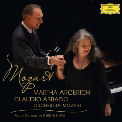 Martha Argerich / Claudio Abbado - Piano Concerto No.25 In C Major K.503 / Piano Concerto No.20 In D Minor K.466 (CD)
