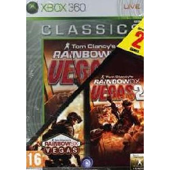 Compilation: Rainbow Six Vegas + Rainbow Six Vegas 2 (Xbox 360)