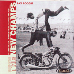 Tribute To Rock With The New Champs - Sax Boogie (CD)