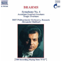 BRT Philharmonic Orchestra Brussels - Symphony No. 4 / Tragic Overture / Academic Fest Ovt (CD)