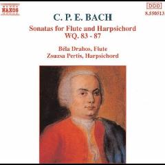 Bela Drahos - Sonatas For Flute & Harpsichord (CD)