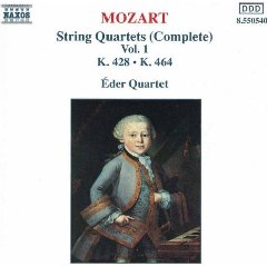 Eder Quartet - String Quartets - Vol.1 (CD)