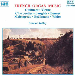 Simon Lindley - French Organ Music (CD)