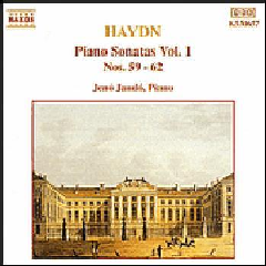 Jeno Jando - Piano Sonatas Vol. 1 (CD)