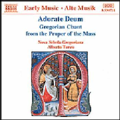 Gregorian Chant From The Proper Of The Mass - Various Artists (CD)