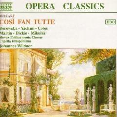 Borowska / Yachmi / Dickie / Martin / Slovak Philharmonic Orchestra / Capella Istropolitana - Cosi Fan Tutte (CD)