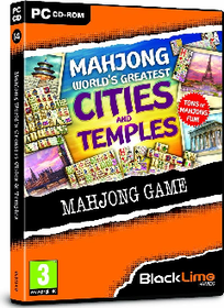 Mahjong Worlds Greatest Cities & Temples (PC DVD)
