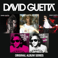 David Guetta - Original Album Series (CD)
