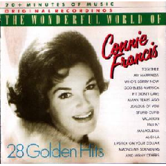 Connie Francis - Wonderful World Of Connie Francis (CD)