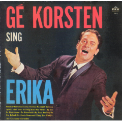 Ge Korsten - Ge Korsten Sing Erika (CD)