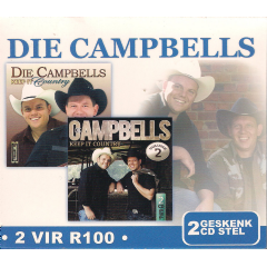 DIE CAMPBELLS - Keep It Country - Vols.1 & 2 (CD)