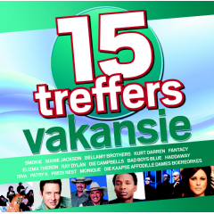 15 Treffers - Vakansie - Various Artists (CD)
