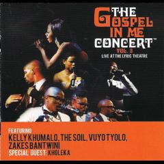 Gospel In Me Concert - Vol.3 - Various Artists (CD)