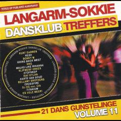 Langarm Sokkie Dansklub Treffers - Vol.11 - Various Artists (CD)