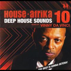 Deep House Sounds - Vol.10 [Mixed By Vinny Da Vinci] - Various Artists (CD)