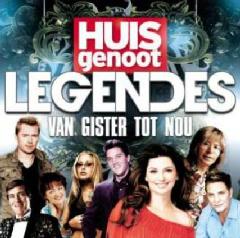 Huisgenoot Legendes Van Gister Tot Nou - Various Artists (CD)
