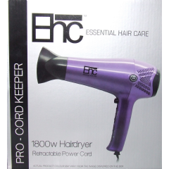 Ehc ProCord Keeper 1800W Hairdryer