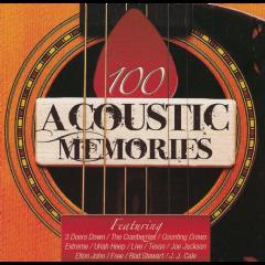 100 Acoustic Memories - Various Artists (CD)