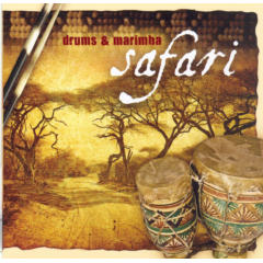 Drums & Marimba Safari - Various Artists (CD)