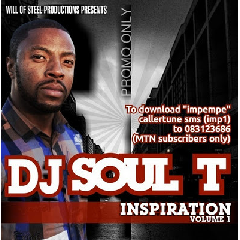 DJ Soul T - Inspiration Vol 1 (CD)