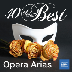 40 Of The Best : Opera Arias - Various Artists (CD)