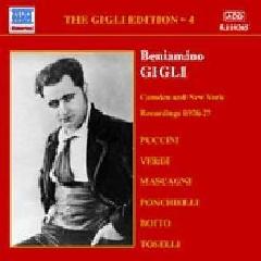 Puccini/Verdi/Ponchelli/Boito - Gigli Edition Vol.4;Bourdon (CD)