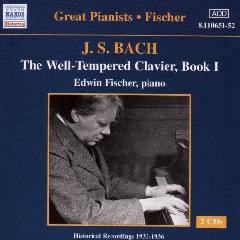 Edwin Fischer - Well - Tempered Clavier Book 1 (CD)