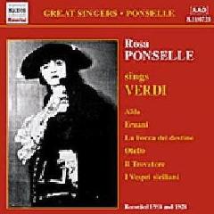 Rosa Pon - Verdi: Ponselle Sings Verdi (CD)