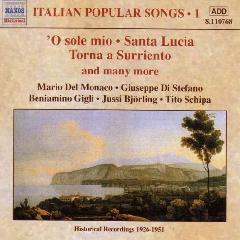Rossini/Cardillo/Denza/Curtis - Italian Popular Songs;Scipa (CD)