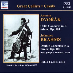 Casals & Thibaud Play - Brahms Double Concerto (CD)