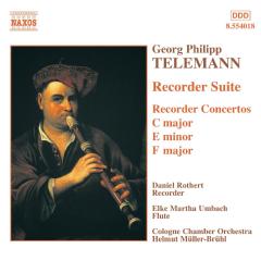 Telemann - Suite & Concertos For Recorder;Müller (CD)