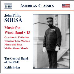 Central Band Of The RAF - Music For Wind Band - Vol.13 (CD)