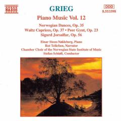Einar Steen-Nokleberg - Piano Music Vol.12 (CD)