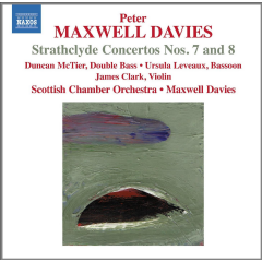Scottish Chamber Orchestra - Strathclyde Concerto Nos.7 & 8 (CD)