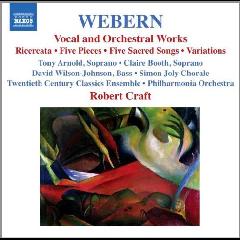 Webern:Vocal & Orchestral Works - (Import CD)