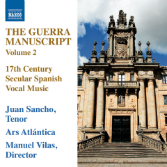Sancho/ars Atlantica/vilas - The Guerra Manuscript - Vol.2 (CD)