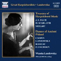 Bach / scarlatti - Harpsichord Music; Landowska (CD)