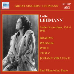 Lieder Recordings - Vol.4 - Various Artists (CD)