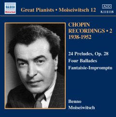 Chopin: Preludes - Preludes (moiseiwitsch) (CD)
