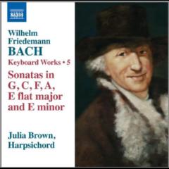 Brown, Julia - Keyboard Works - Vol.4 - Harpsichord Sonatas In G, C, F, A, EFlat Major & E Flat Minor (CD)