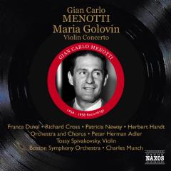 Menotti: Maria Golovin - Maria Golovin (CD)