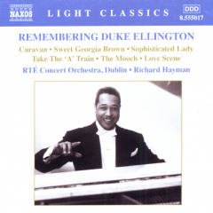 Rte Concert Orch/hayman - Remembering Duke Ellington (CD)
