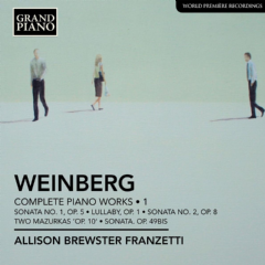 Weinberg - Complete Piano Works - Vol.1 (CD)