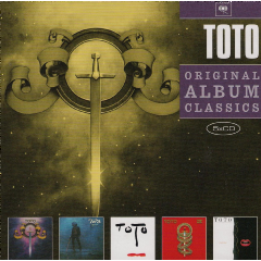 Toto - Original Album Classics - Toto / Hydra / Turn Back / Toto IV / Isolation (CD)